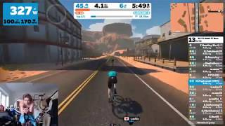 ZWIFT ACADEMY TT RACE (4-5w/kg) - Can I Podium?! by Verticalife