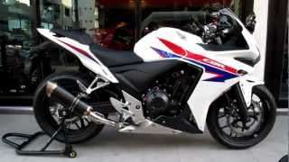4. 2013 CBR500R Exhaust Sound Clip Video & More! K-Speed / Honda of Chattanooga