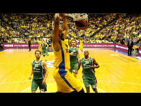 Highlights: Maccabi Electra Tel Aviv-Unicaja Malaga