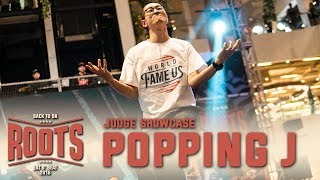 Poppin J – Eat D' Beat 2018 Back To Da Roots Judge Showcase (Another angle)