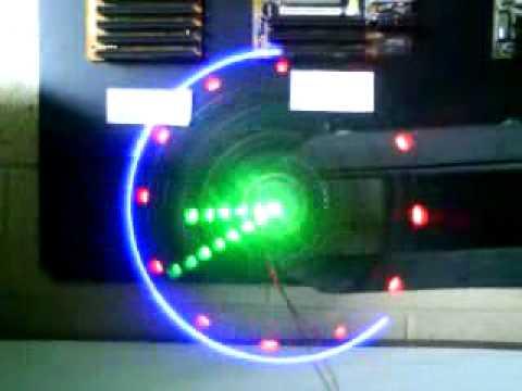 Reloj propeller de agujas