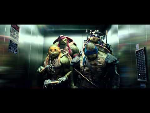 【忍者龜:變種世代】電影片段-電梯篇