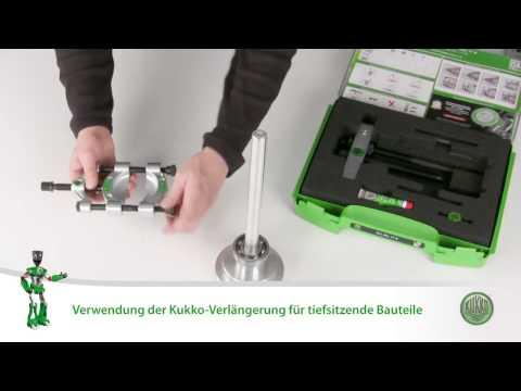 KUKKO - Juego con separador con tornillo de sujeción rápida 17-A
