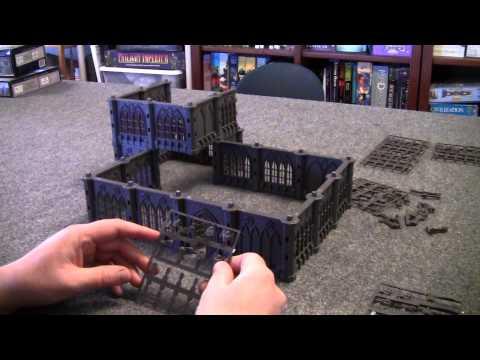 Review of Pegasus Hobbies Gothic City Buildings