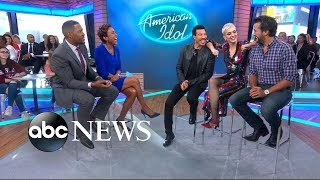 Video Lionel Richie, Katy Perry and Luke Bryan take over 'GMA' MP3, 3GP, MP4, WEBM, AVI, FLV Maret 2018
