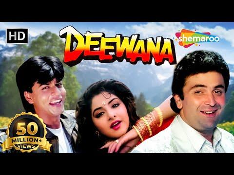 Deewana (HD)   Shah Rukh Khan   Rishi Kapoor   Divya Bharti   Hindi Full Blockbuster Movie