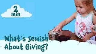 What's Jewish about Tzedakah?