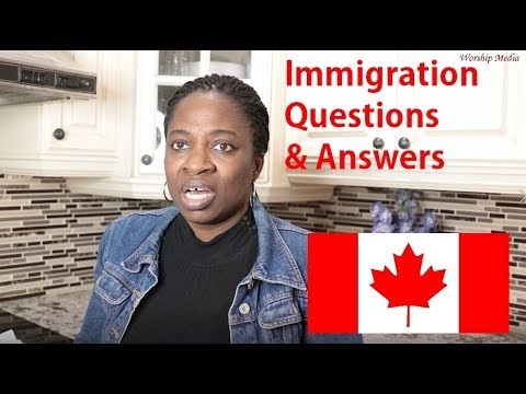 Cananda Immigration Questions And Answers March 29, 2019