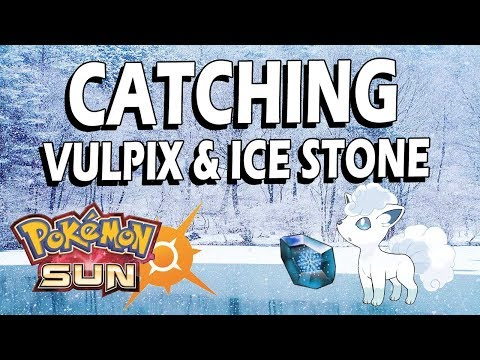 How To: Catch Vulpix & Secure The Ice Stone - Pokemon Sun on 3DS