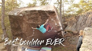 One of the best boulders in the World? by Dan Turner