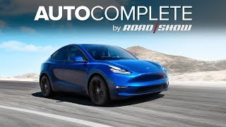 AutoComplete: Tesla debuted its Model Y crossover SUV by Roadshow