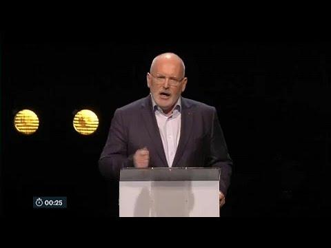 Φρανς Τίμερμανς:Ο νικητής του ντιμπέιτ των υποψηφίων για την Κομισιόν …