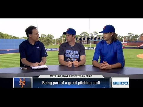 Video: Mets Hot Stove: Steven Matz and Jacob deGrom