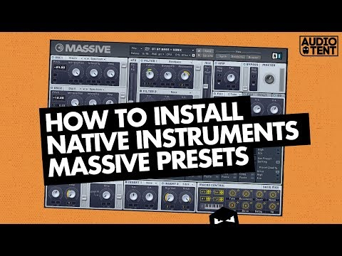 How To Install Native Instruments Massive Presets (2018)