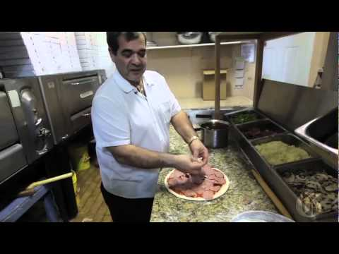Video: Agostino Lumia prepares pizza.