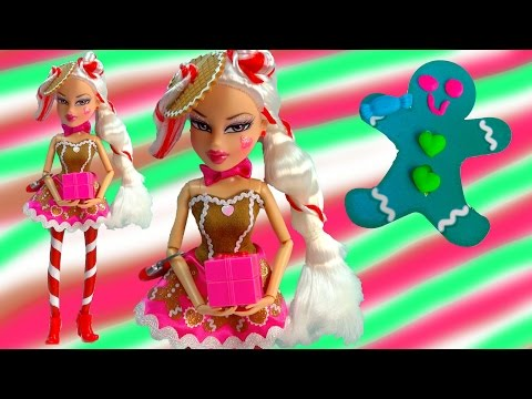 gingerbread - SUBSCRIBE: http://www.youtube.com/channel/UCelMeixAOTs2OQAAi9wU8-g?sub_confirmation=1 Bratz Costume Bash Jade Doll dressed in a yummy gingerbread man dress. She has thick frosting ...