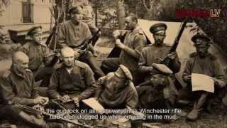 """Pieminot latviešu brīvprātīgo strēlnieku bataljonu veidošanās simtgadi, ar Rekrutēšanas un jaunsardzes centra atbalstu tapusi dokumentālā filma """"Zem latviešu ..."""