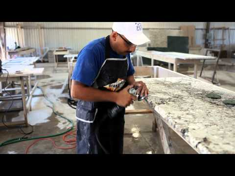 Polishing (Step 5 Granite Fabrication Process)
