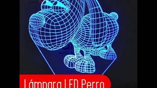 Lámpara LED Perro