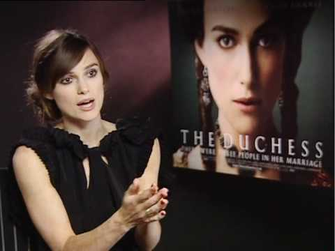 Keira Knightley interview with Justine Gale - Version 2. The Duchess