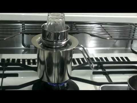 自作パーコレーター 完成形~♪ DIY –  Handmade Percolator (coffee maker)