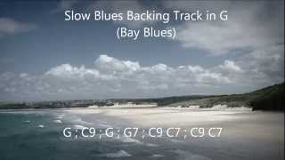 Bay Blues - Backing Track
