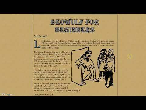 Beowulf Part One