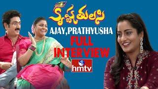 Ajay Prathyusha Interview | Krishna Tulasi Serial | Colors of Life