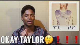 TAYLOR SWIFT 1989| ALBUM REACTION