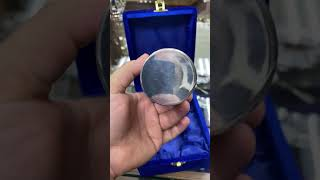 серебряный стакан «Глянец»
