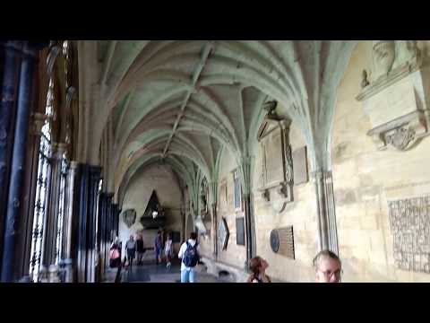 Westminster Abbey - Kirche in London - Innenhof - 26. ...