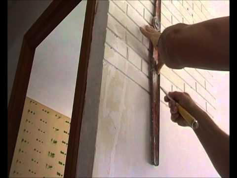 Pared ladrillo falso videos videos relacionados con for Ladrillos falsos decorativos