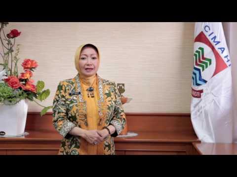 Greeting HUT Ke-15 Kota Cimahi