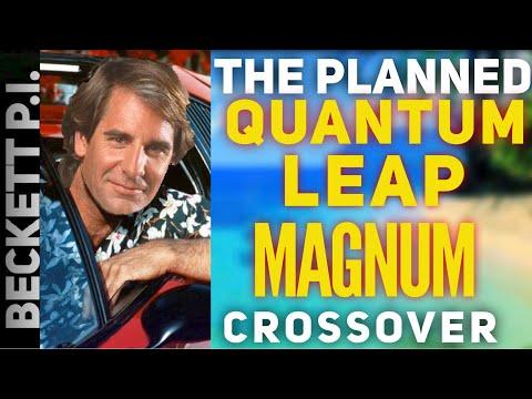 Planned Quantum Leap Magnum P.I. Crossover!