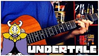 Undertale - Bergentrückung/Asgore/Determination (acoustic cover by Josiah Everhart)