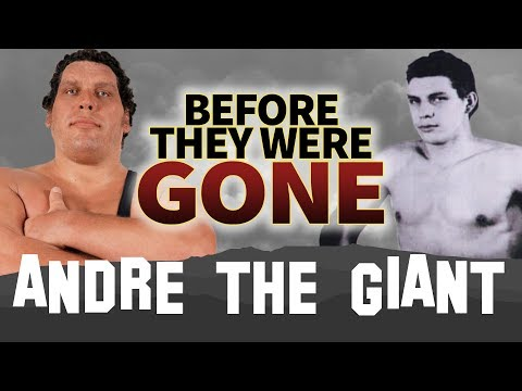 ANDRE THE GIANT  Before They Were GONE  BIOGRAPHY