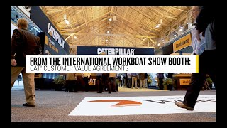 International Workboat Show: Cat® Customer Value Agreements