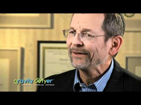 Doctor of podiatry talks about Gravity Defyer Shoes.