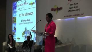 http://africanbrains.net/ia Dr Sibongile Mtshali -- Director of Education, Swaziland speaking on ICT for Education at the Innovation...