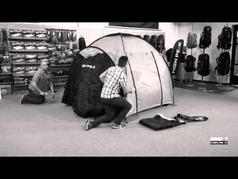 Відео демонтрація палатки High Peak Como 6