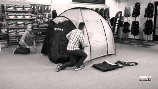 Большая кемпинговая палатка для отдыха большой компанией  High Peak  Como 4