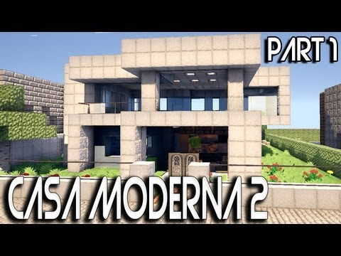 Casas modernas team 39 s idea for Casa minimalista minecraft