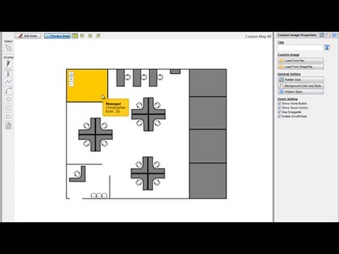 Create interactive floor plan