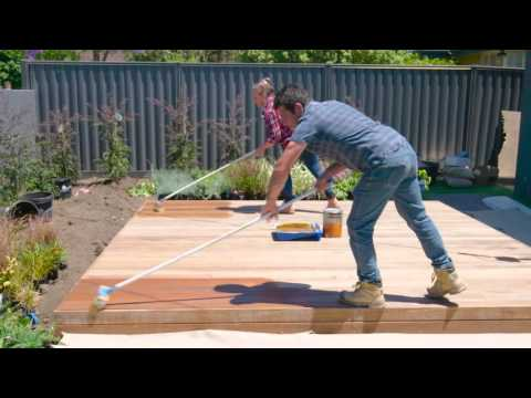 Staining the Deck | The Home Team 2 Ep. 45