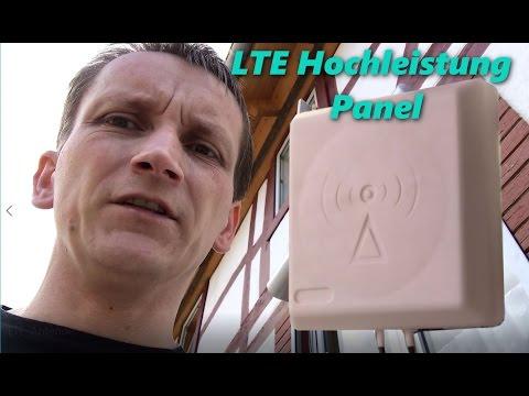 Externe LTE Antenne anbringen und erster Speedtest