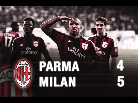 Milan - Serie A TIM Season 2014/15 Day 2, September 14th 2014 (14/09/2014) 25' Bonaventura (M), 27' Cassano (P), 37' Honda (M), 45' Menez (M) rig,, 51' Felipe (P), 68' De Jong (M), 73' Lucarelli (P),...