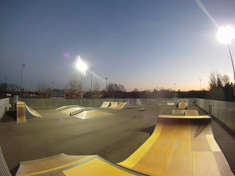 Under the Lights at Freehold Skatepark