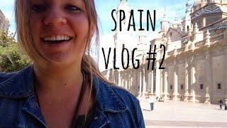 Zaragoza Spain  city photo : Spain Vlog 2 - updates, a haircut, walking Zaragoza