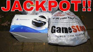 Video JACKPOT!!! Gamestop Dumpster Dive Night #356 MP3, 3GP, MP4, WEBM, AVI, FLV Juli 2018