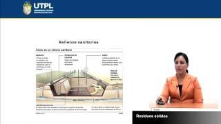 UTPL RESIDUOS SÓLIDOS  [(GESTIÓN AMBIENTAL)(TECNOLOGÍAS LIMPIAS Y ALTERNATIVAS)]